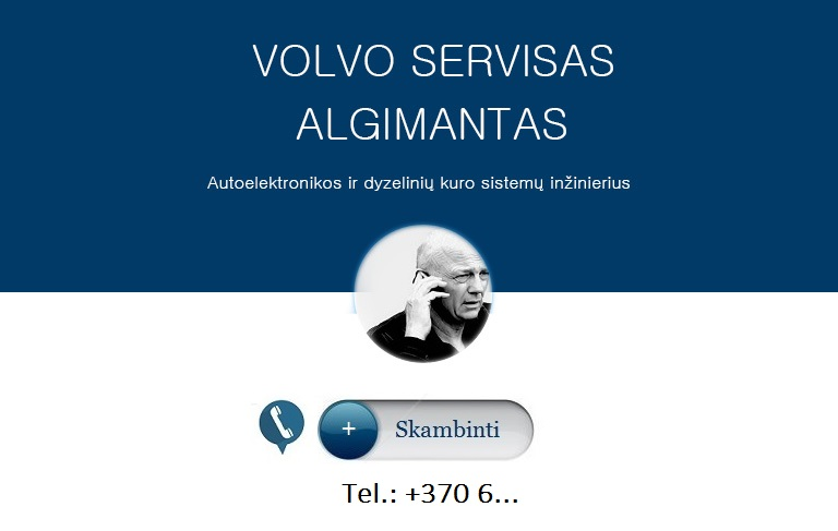 VOLVO AUTO DIAGNOSTIKA